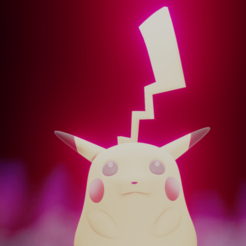 untitled.png Download STL file Gigantamax Pikachu(Pokémon) • Object to 3D print, ohdan