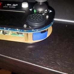 Button.jpg Télécharger fichier STL gratuit Bouton d'épaule/déclenchement du chapeau de jeu Waveshare • Objet pour imprimante 3D, Abbin21