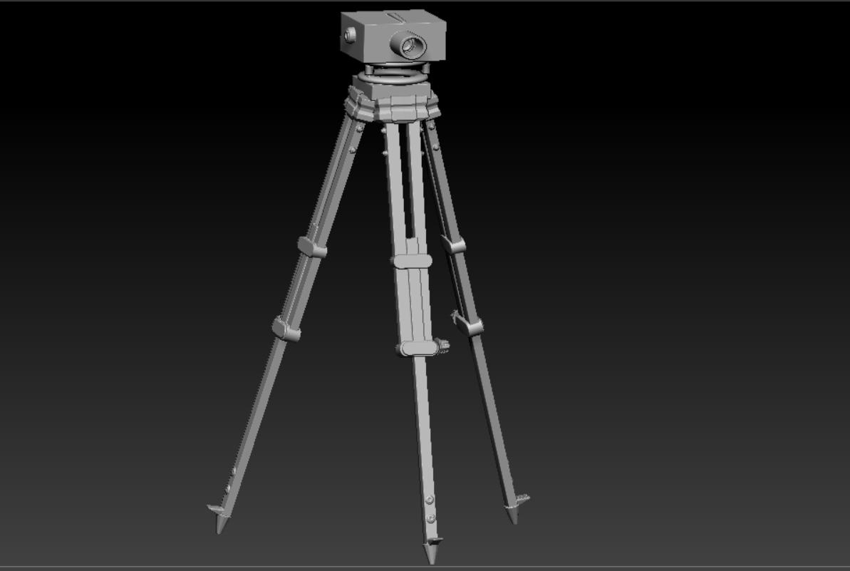 tripode.png Télécharger fichier OBJ Niveau topographique • Modèle pour impression 3D, marcodefaz999