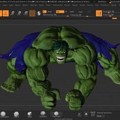 hulk1.jpg Télécharger fichier OBJ HULK • Design pour impression 3D, marcodefaz999