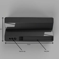 Top View with notations.jpg Télécharger fichier STL Assistant commun • Plan pour imprimante 3D, RPtjeNL