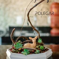Télécharger fichier impression 3D mini jardin basse politique, Polegar_design