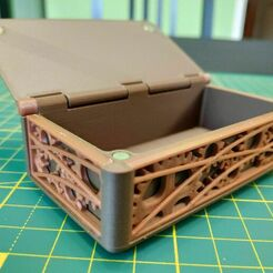 IMG_20210103_115222.jpg Download STL file Casket with steampunk inlay • 3D printable design, pgman