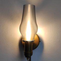 IMG_20201128_104701.jpg Download free STL file Retro sconce bedside lamp • 3D printer model, pgman