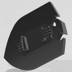 fisty boi 2.png Download free STL file For the wall • 3D printing template, honda_boy99