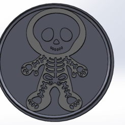 esqueleto.png Download STL file Halloween Skeleton Cutter • Object to 3D print, palmajoaquin99