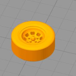 Rueda.png Télécharger fichier STL Roue de voiture • Modèle imprimable en 3D, palmajoaquin99
