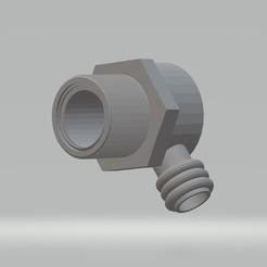 raccord-40.jpg Download STL file Adapter for bathtub evacuation Ilot • 3D print design, steve_sp78