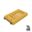18650_vented.png Télécharger fichier STL gratuit NESE, le module V2 sans soudure 18650 (VENTED) • Objet pour imprimante 3D, 18650