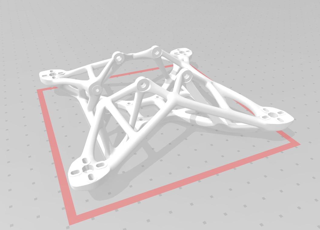 izo.PNG Download STL file Bionic frame 140mm • 3D print template, Rafraf199