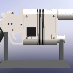 2021-01-11-min.png Download STL file Blaster Pistol • Model to 3D print, carocadelago2