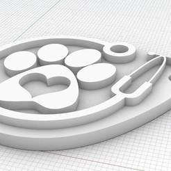 Descargar archivos 3D gratis Llavero veterinario/a, chass84