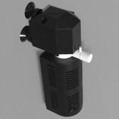 Fish tank motor Render.jpg Télécharger fichier STL Moteur de l'aquarium • Objet pour imprimante 3D, Vishnukaarthi