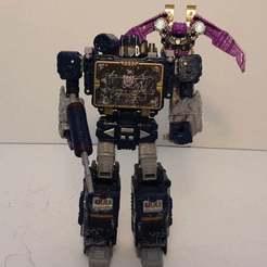20201009_052806.jpg Télécharger fichier STL gratuit Transformers WFC Siege Ratbat Back booster remix • Design pour imprimante 3D, Perceptor75