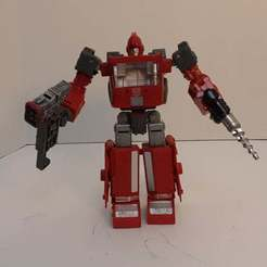 20201007_162016.jpg Download free OBJ file Ironhide/Ratchet/Crosshairs transforming foot replacement • Template to 3D print, Perceptor75