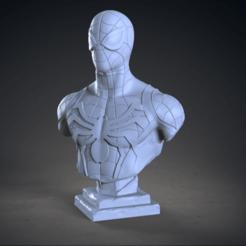 Download STL file Spiderman Bust, armandburger26