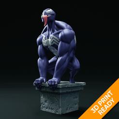 preview1.png Descargar archivo STL Modelo de impresión en 3D de la estatua de veneno • Modelo para la impresora 3D, armandburger26