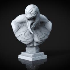 preview1.png Télécharger fichier STL Buste à venin • Design imprimable en 3D, armandburger26