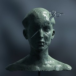 sa.85.jpg Download STL file Indifference • 3D printable object, kx_sculptor