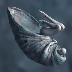 последнее.jpg Download STL file The moon • 3D printing model, kx_sculptor