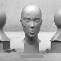 untitled.156.jpg Download STL file creative portrait 2  • 3D printing model, kx_sculptor
