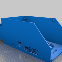 MODEL_FOR_VIEWING_ONLY.png Download free STL file SKR E3 Mini and stock Creality mainboard Electronics Enclosure - REMIX • 3D printing design, LiveFromNewYawk