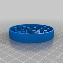 Jar_Grinder_Top.png Download free STL file Mason Jar Herb Grinder • 3D printer template, LiveFromNewYawk