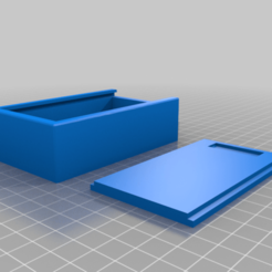 Remix-_Magnetic_key_hide_box_with_sliding_lid.png Download free STL file Magnetic key hiding box with sliding lid -FIXED &No Supports Needed • 3D printing object, LiveFromNewYawk