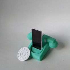 003.jpg Download free STL file Tele-Charger • Object to 3D print, OrnjCreate