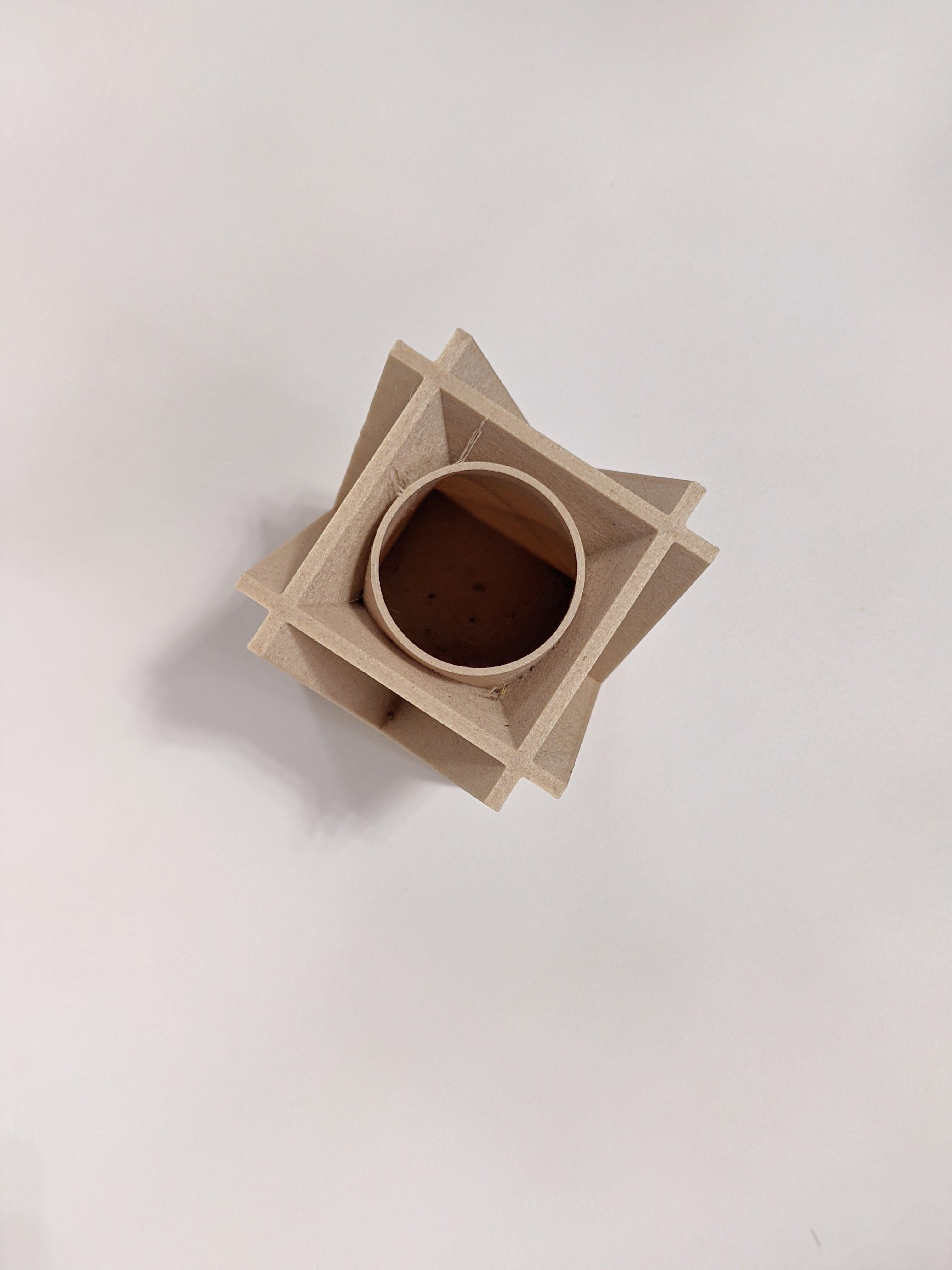 PXL_20201116_150238829.PORTRAIT-01.COVER.jpg Download free STL file X Brace Vase • 3D printable design, OrnjCreate