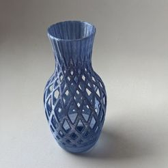 Download free STL file Small Weaving Vase • Design to 3D print, OrnjCreate
