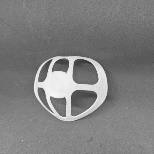 Download free STL file Facemask inner bracket • 3D printer template, OrnjCreate