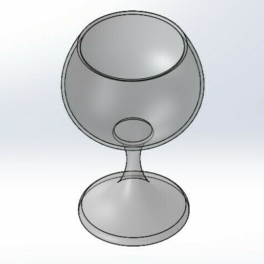Screenshot_1.jpg Download STL file Cup wine • 3D printable model, yanchernhak