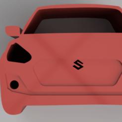 Download free 3D printing models Maruti Suzuki Swift Keychain, ameyad8