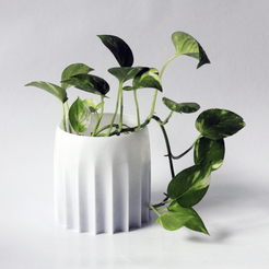 Download free 3D print files Water-saving planter pots, Prigle