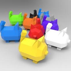 untitled.0.jpg Download free STL file Cute Cat • 3D printable template, Prigle