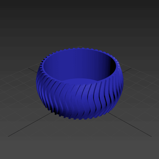2.png Download free STL file Cactus Planter 2 - small • 3D printing object, Prigle