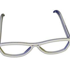 glasses v1 3.jpg Download STL file Eyeglass v1 • 3D printable design, Tanerxun
