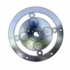ravigneaux gear 1.jpg Download STL file Ravigneaux gear set-planetary gear system • 3D printable object, Tanerxun