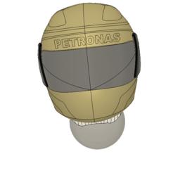 Download free STL file F1 helmet  • 3D printing model, Dillon1710