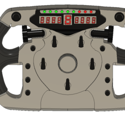 stearing wheel.PNG Download free STL file F1 steering wheel  • 3D printable template, Dillon1710