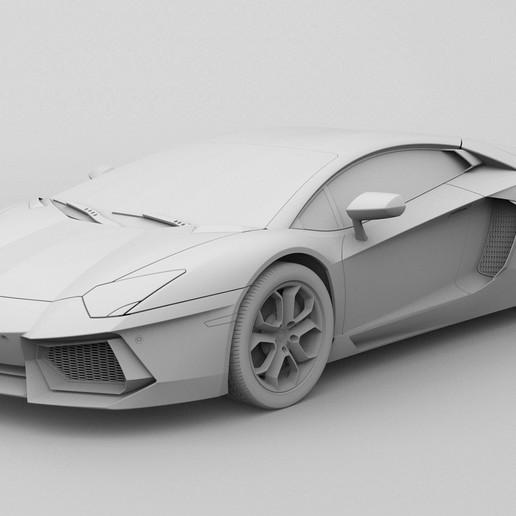 Télécharger fichier STL gratuit Aventador • Design pour impression 3D, Dillon1710