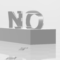 Download free STL file Yes and No  • 3D printing object, Dillon1710