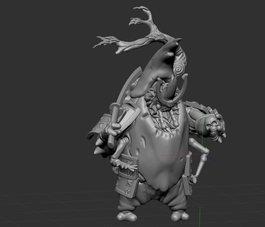 OzitoPic.png Download STL file Ozito - Beetle Samurai • Design to 3D print, BenJNicholls97