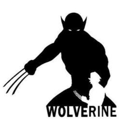 Download STL WOLVERINE STENCIL, ThePlayVinicius