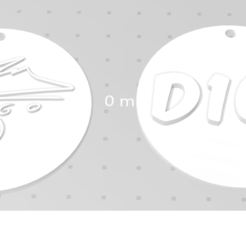 Llavero maradona.png Download STL file Key ring - Maradona • 3D printable template, fr3dimpresiones