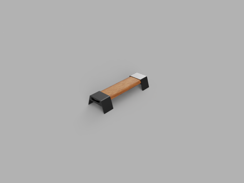 ParkBench.png Download free GCODE file Park Bench • 3D print template, acmabute