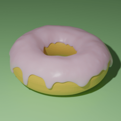Donut.png Download free STL file Donut • 3D printing model, acmabute
