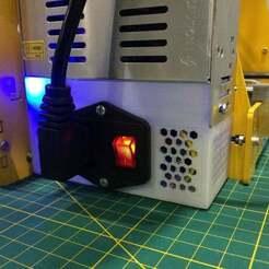 IMG_6989.JPG Télécharger fichier STL gratuit Couverture de l'alimentation électrique - Acier P3 • Modèle à imprimer en 3D, albayrak