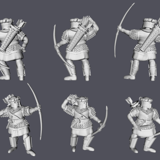 Arnor Archers.png Download free STL file Arnor Archers • 3D printable object, Swagius_Maximus